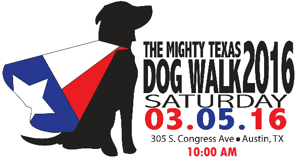 mighty texas dog walk
