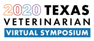 2020 Texas Veterinarian Virtual Symposium Logo